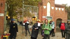 Halloweenaktion am Botanischen Garten